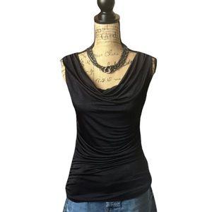 Apt.9 purple scoop neck sleeveless blouse
